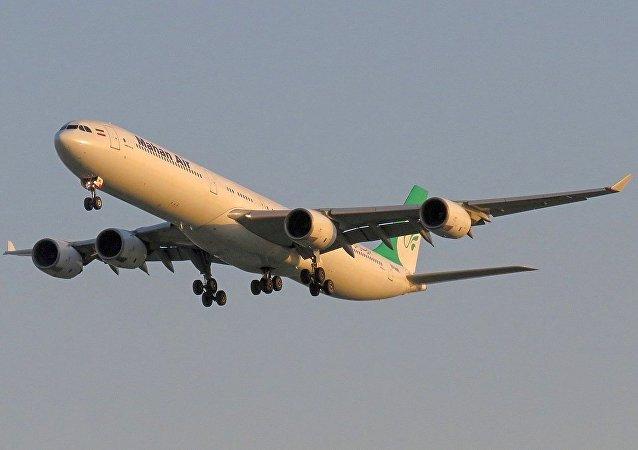 馬漢航空的A340客機