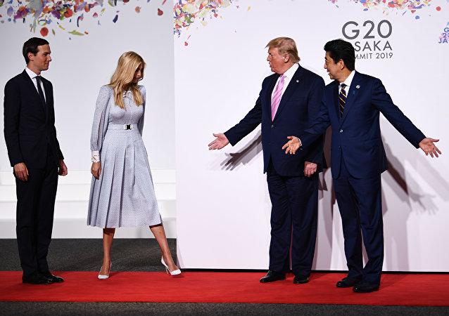伊萬卡因在G20峰會上與世界領導人的尷尬溝通讓自己變成了一個網紅