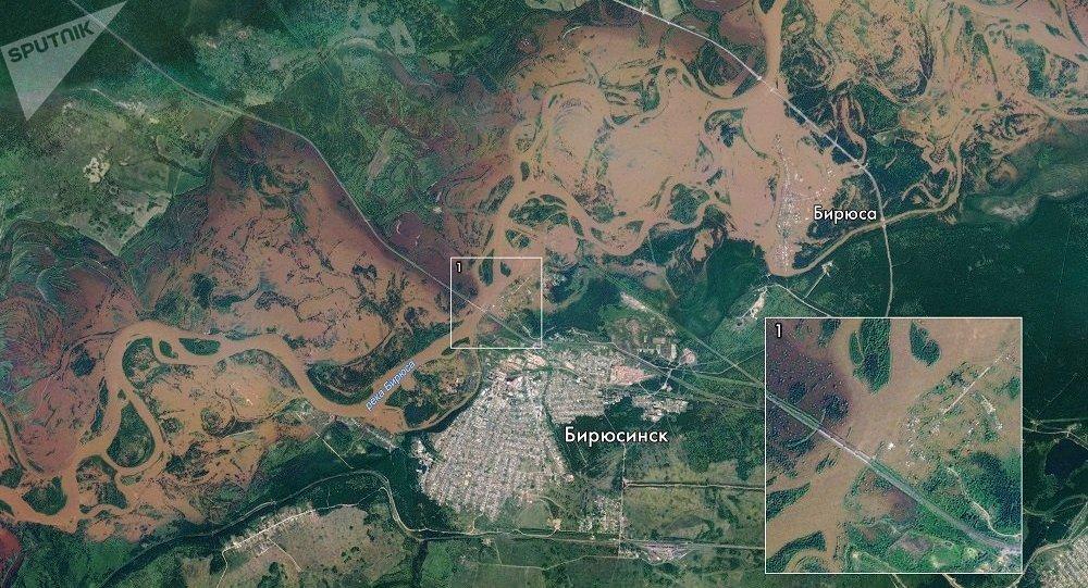 俄紧急情况部:伊尔库茨克州洪灾4名失踪者幸存