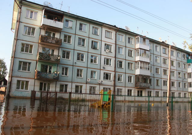 俄当局:安加尔河沿岸地区洪灾造成21人死亡 14人失踪
