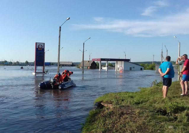 伊爾庫茨克州洪災已經導致22人死亡