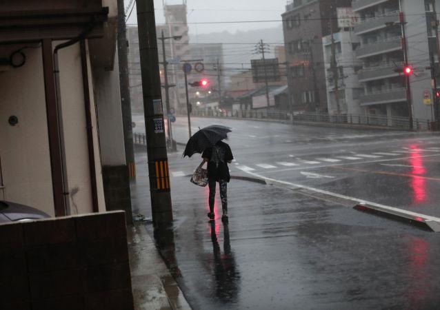日本鹿儿岛市(资料图片)