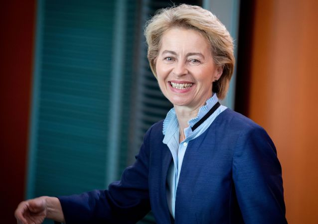 普京就冯德莱恩被选为欧盟委员会主席向她发送贺电