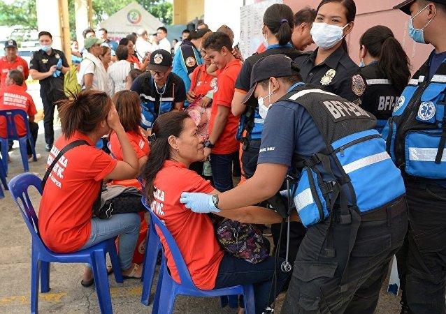 菲律宾前第一夫人庆生 200多来宾食物中毒
