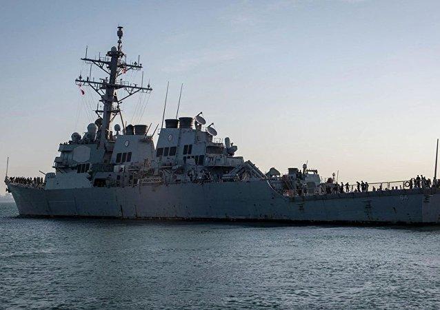 北約艦艇已經進入奧德薩港口 將參與「海風」演習