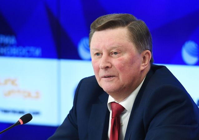 俄罗斯战争历史协会理事会主席、俄罗斯总统生态环保和交通问题特别代表谢尔盖·伊万诺夫