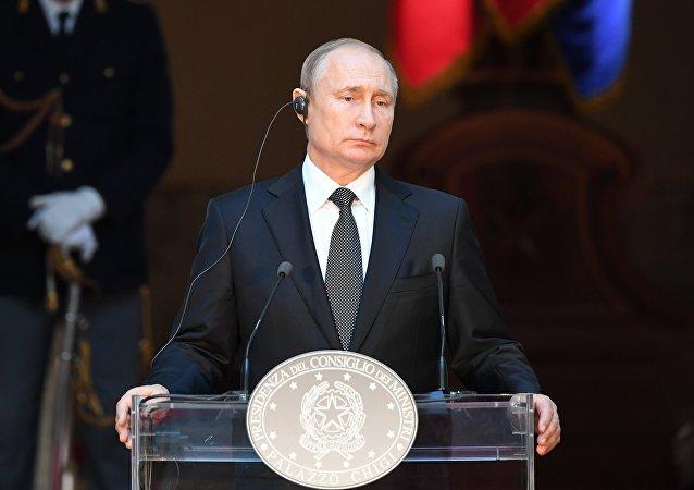 普京稱莫斯科非常希望美中達成貿易協定