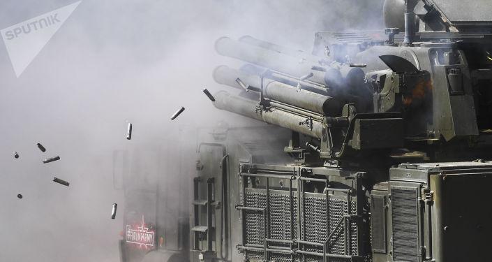 「鎧甲-S1」防空彈炮系統
