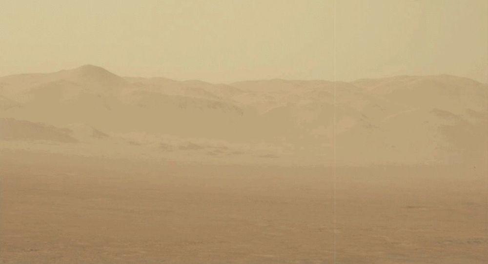 火星沙塵暴