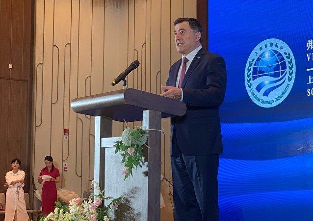 上海合作组织秘书长弗拉基米尔·诺罗夫