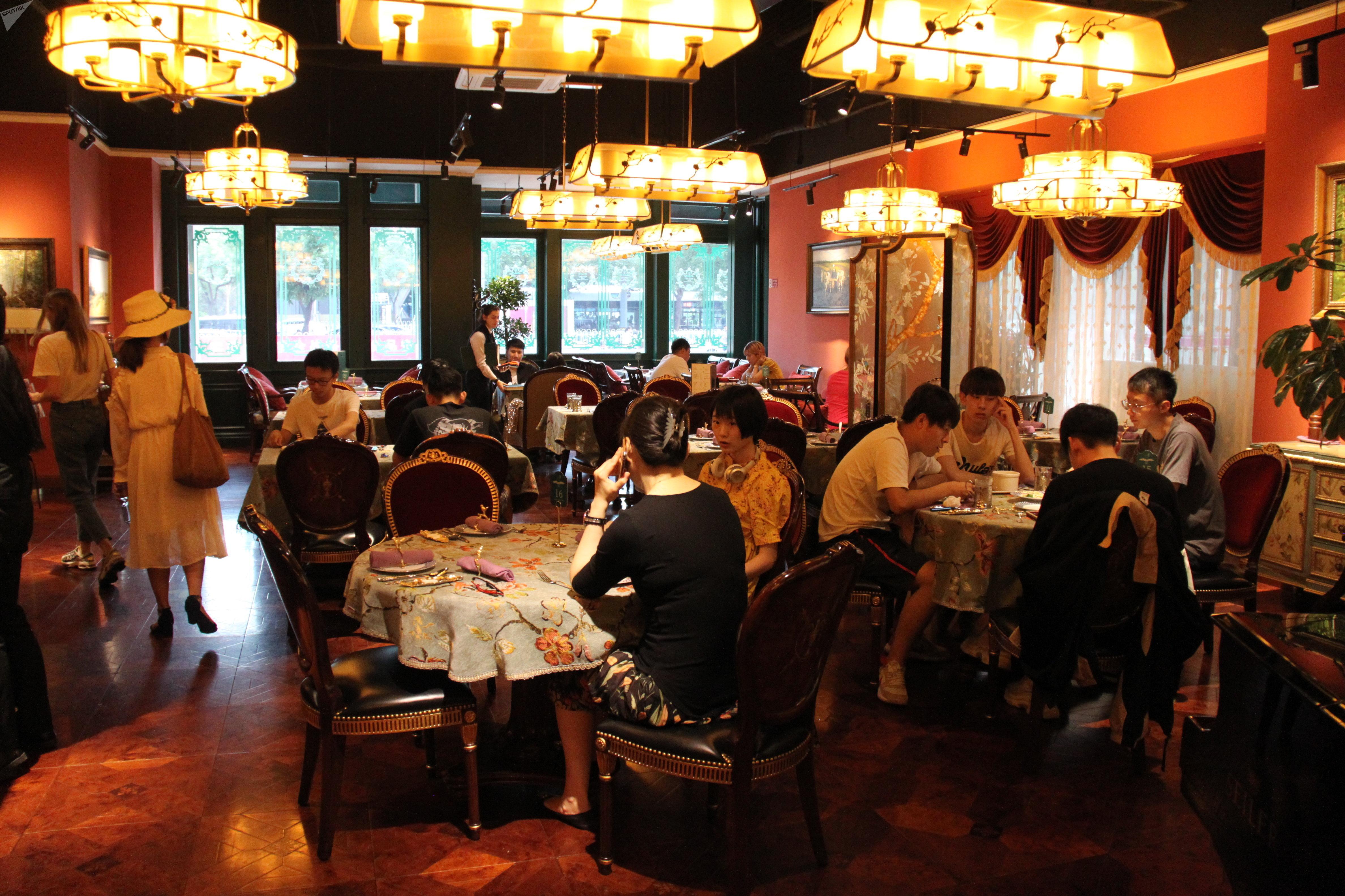 """北京""""普希金文学餐厅"""""""
