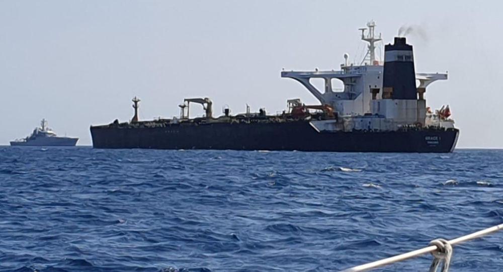 直布羅陀政府稱被扣伊朗油輪運送210萬桶原油