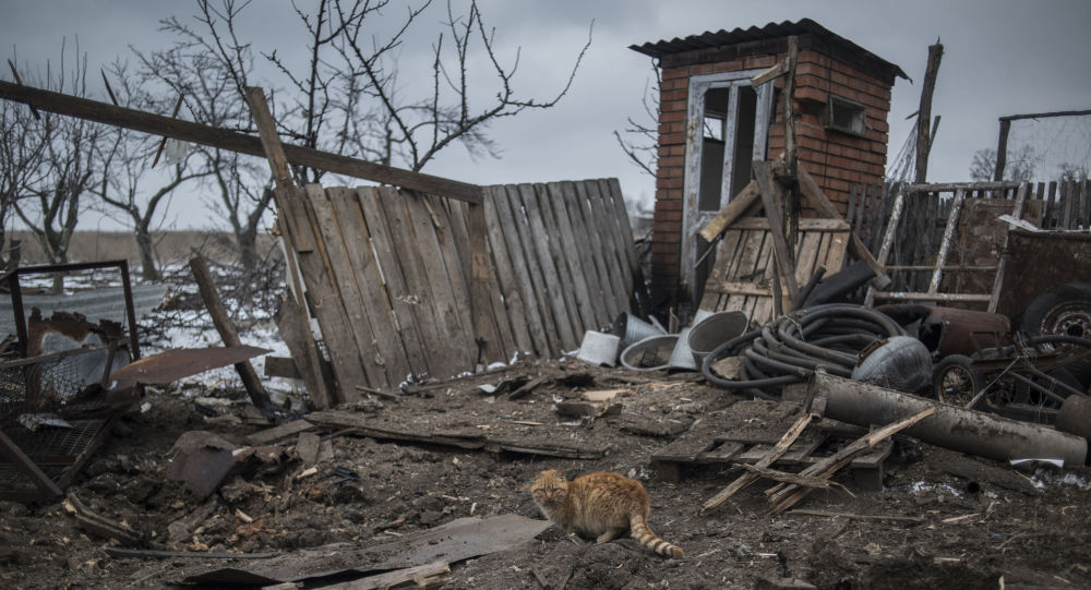 科明捷尔诺沃村遭到攻击