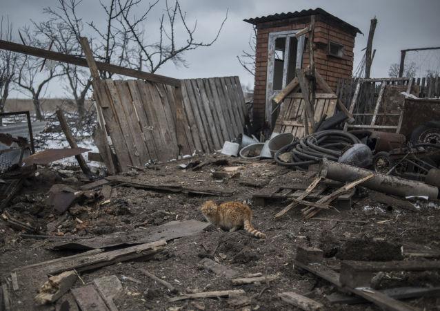 科明捷爾諾沃村遭到攻擊