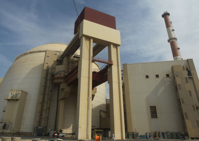 """伊朗原子能组织:与俄建设""""布什尔""""核电站两个机组的进度超过计划"""