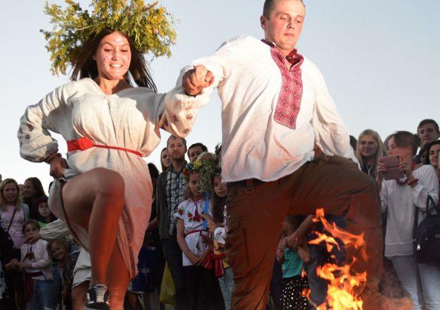 乌克兰庆祝伊凡·库帕拉节