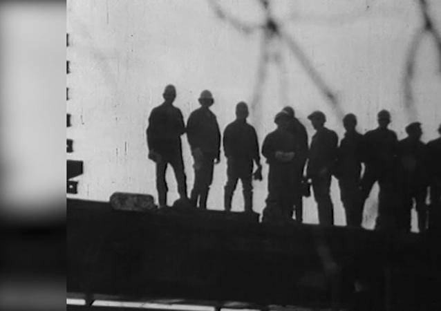 苏联贝阿铁路 开工45周年