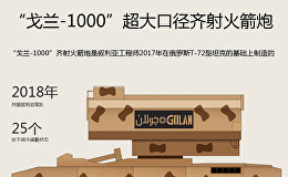 """""""戈兰-1000""""超大口径齐射火箭炮"""