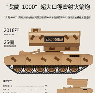 「戈蘭-1000」超大口徑齊射火箭炮