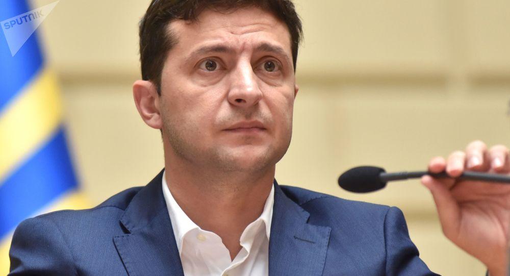 乌克兰总统泽连斯基不排除解除对顿巴斯地区经济封锁