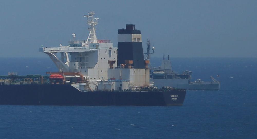 """美国务院:美国威胁""""格蕾丝一号""""油轮船员将面临后果"""