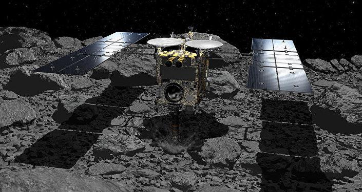 日本「隼鳥2號」探測器成功著陸小行星「龍宮」