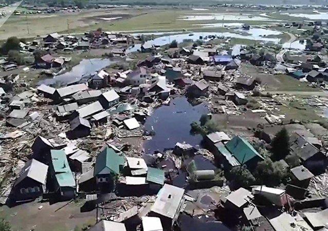 伊尔库茨克州洪灾导致死亡人数升至25人