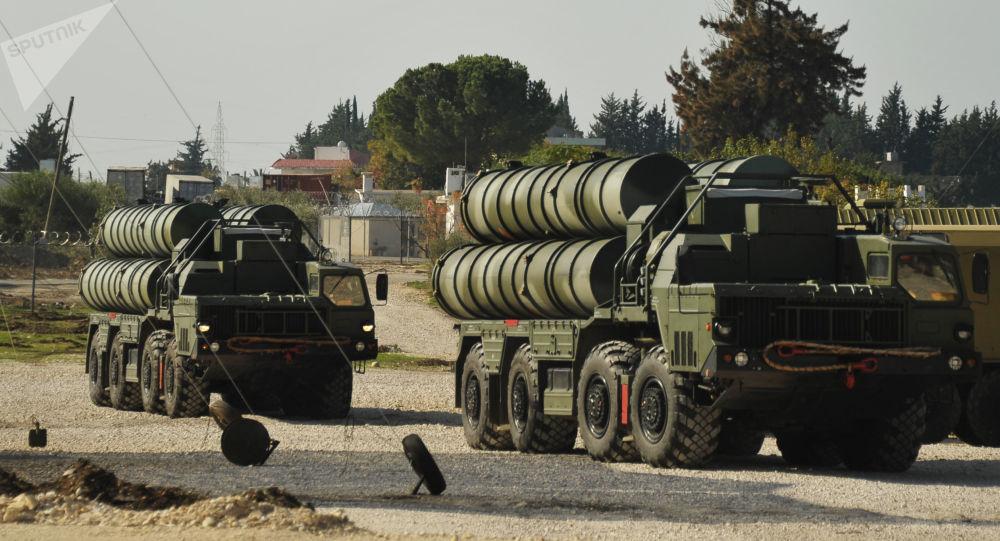 向土耳其运交S-400导弹视频发布