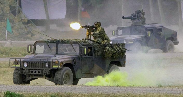 中國國防部敦促美國立即撤銷售台武器計劃