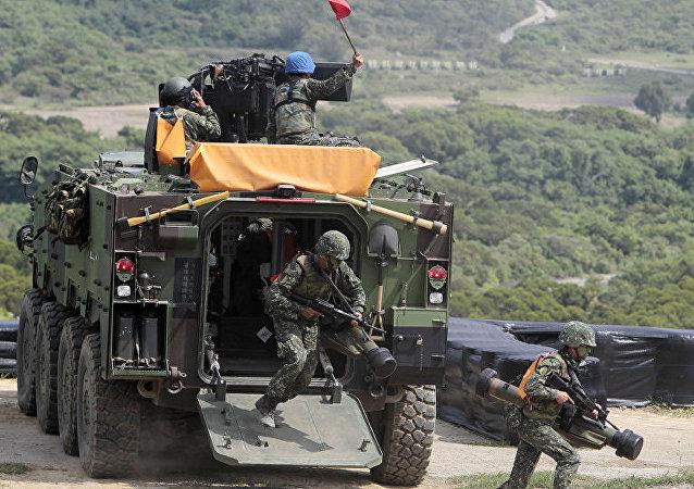 中方对参与售台武器的美国企业实施制裁 将言必行行必果