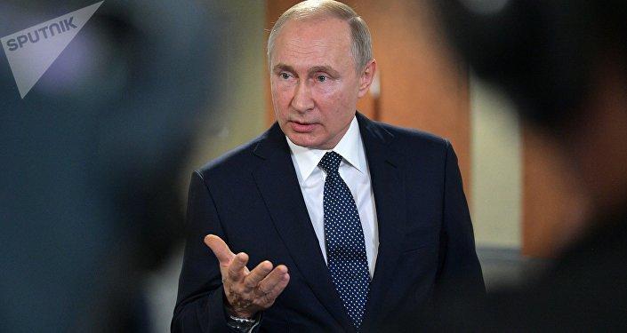 普京稱他未曾也不打算干涉美國大選