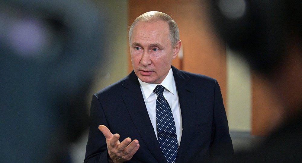 普京称他未曾也不打算干涉美国大选