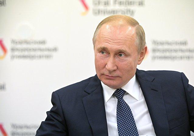 俄羅斯總統弗拉基米爾·普京