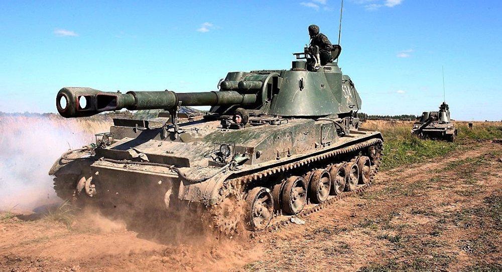 152毫米'金合歡'自行榴彈炮