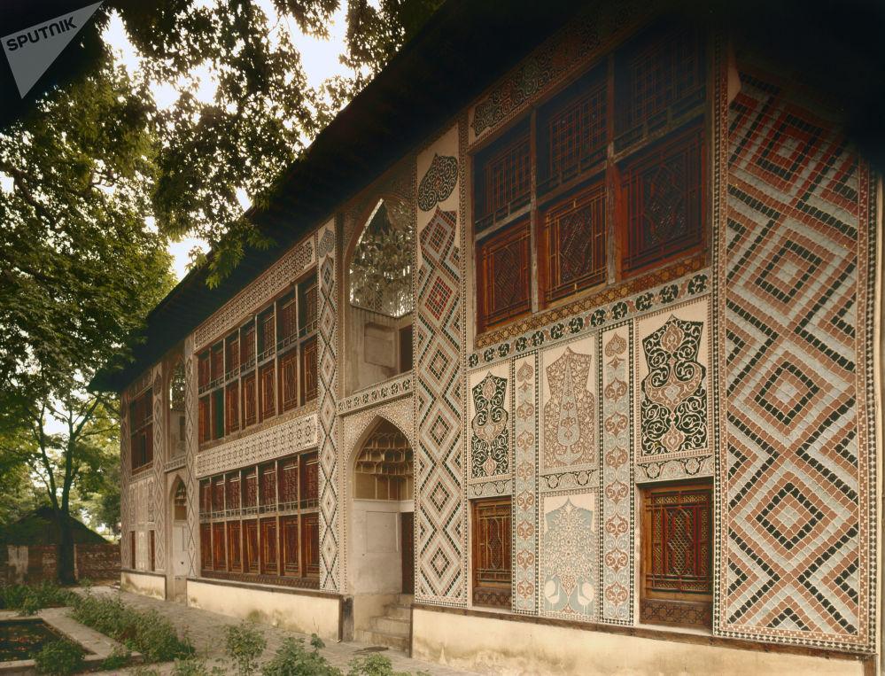 阿塞拜疆捨基歷史中心及汗王宮殿外觀