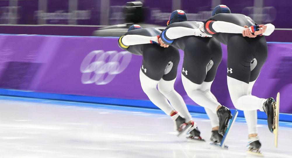 在平昌冬奧會上