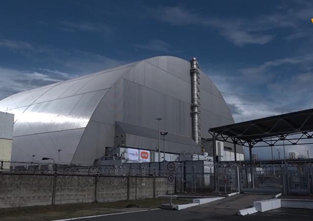 切爾諾貝利核電站新「石棺」