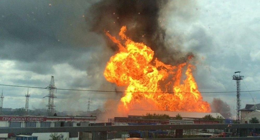 莫斯科州第27號熱電站發生火災 其中一個發電機組緊急停機
