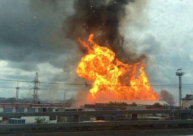 莫斯科州第27号热电站发生火灾 其中一个发电机组紧急停机