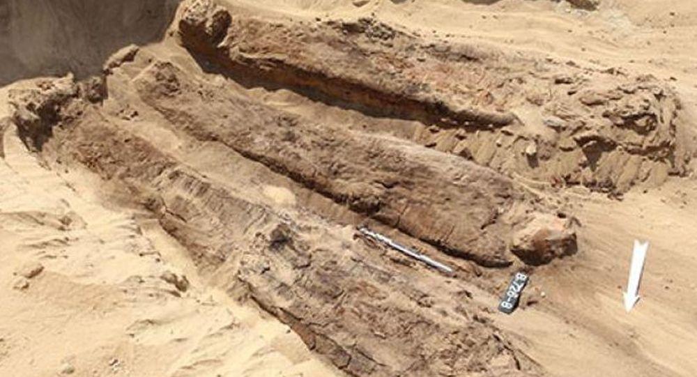 在埃及北部發現放在木棺中的木乃伊