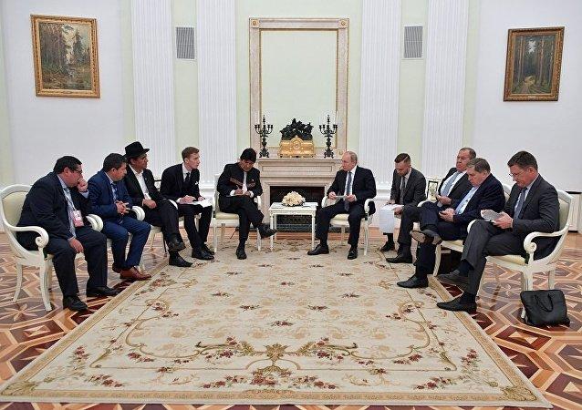 普京:俄罗斯与玻利维亚的关系发展前景良好