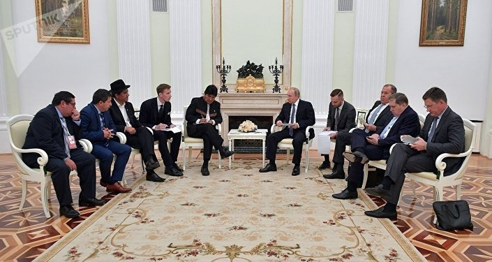 普京:俄羅斯與玻利維亞的關係發展前景良好