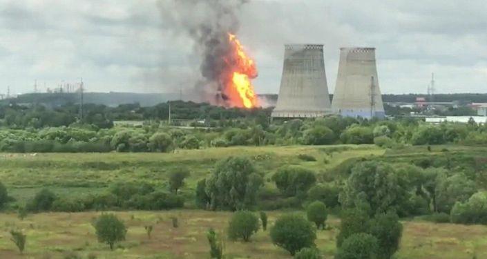 莫斯科州熱電站火災造成1人死亡13人受傷