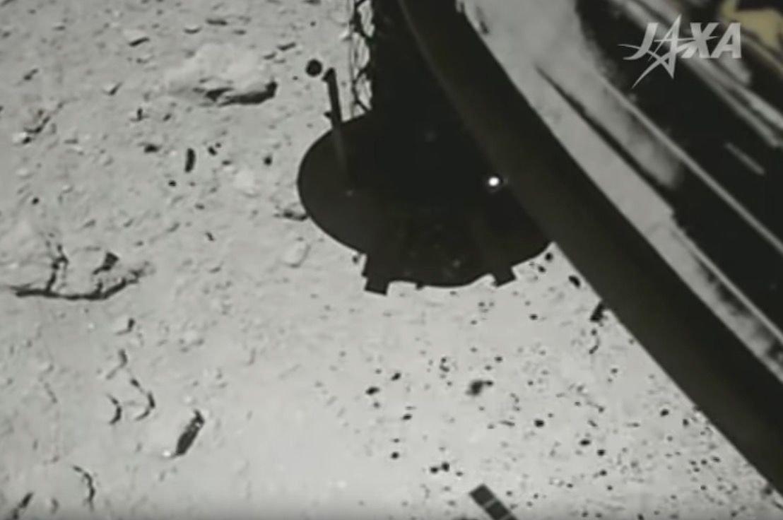 日本隼鳥2號探測器再一次成功登陸小行星「龍宮」