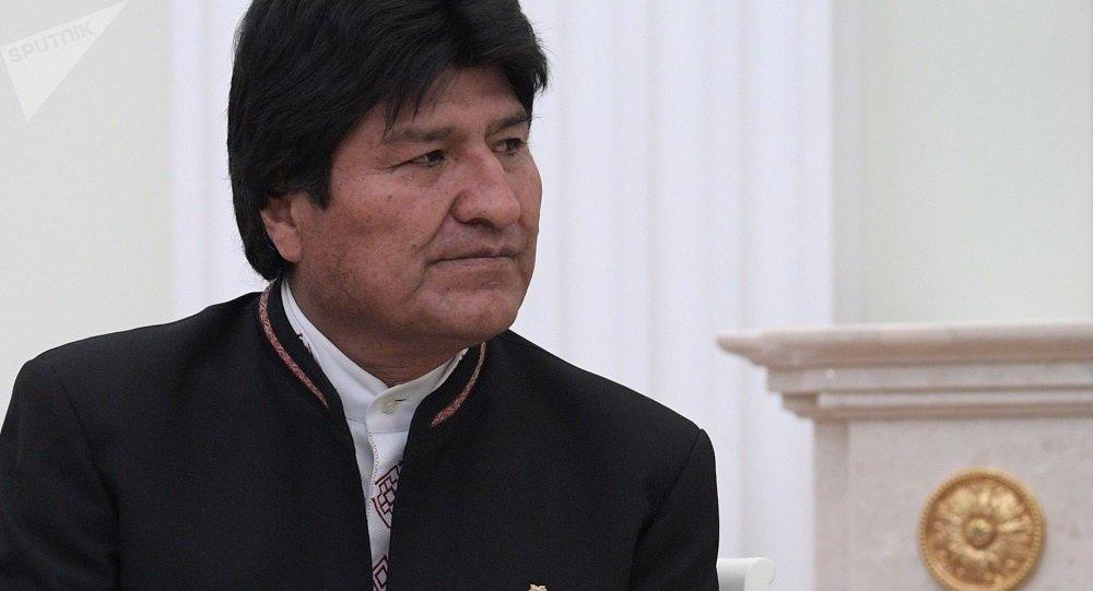 玻利维亚总统莫拉莱斯