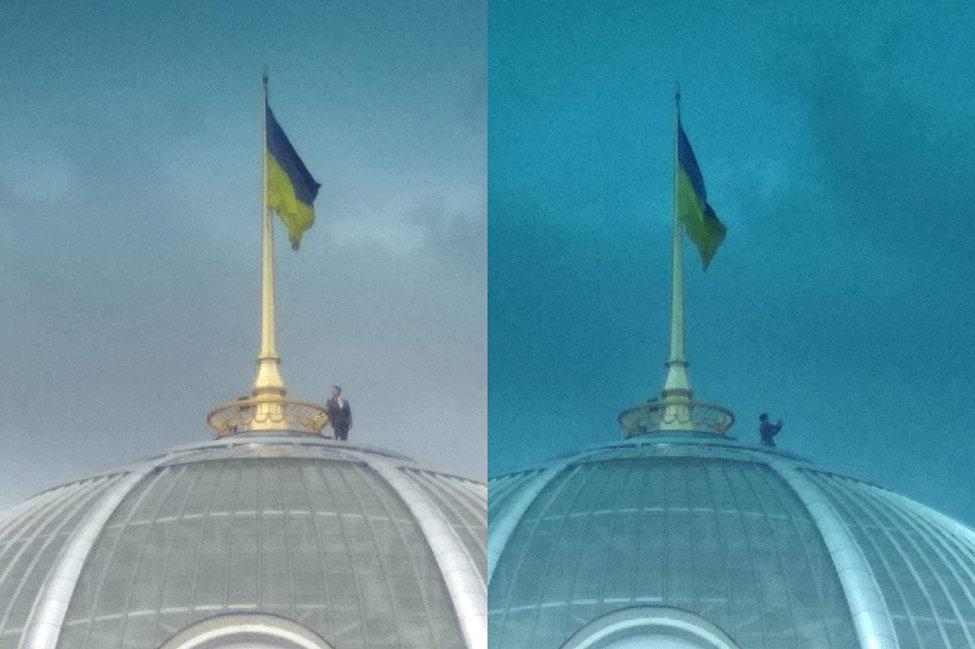 网民们猜测泽林斯基上穹顶的用意