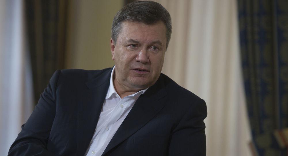 歐洲法院解除對烏克蘭前總統亞努科維奇及其親信的制裁