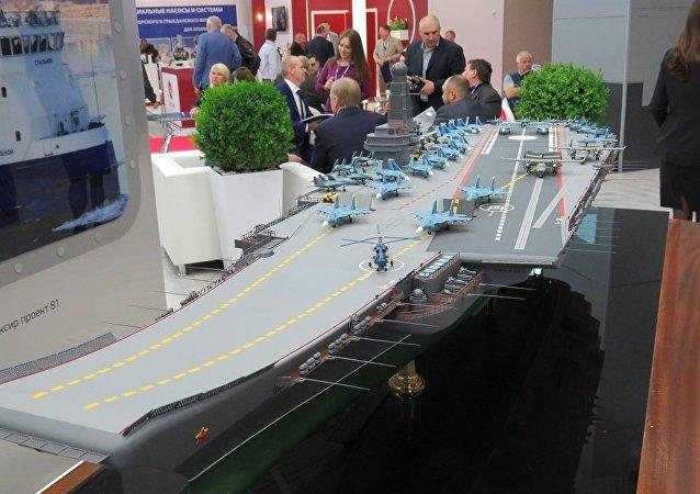 俄罗斯或将建造新型核动力航母