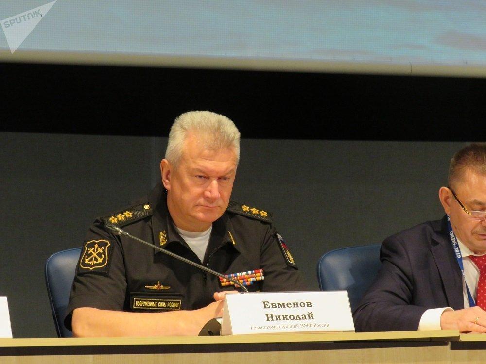 俄罗斯海军总司令尼古拉·耶夫米诺夫