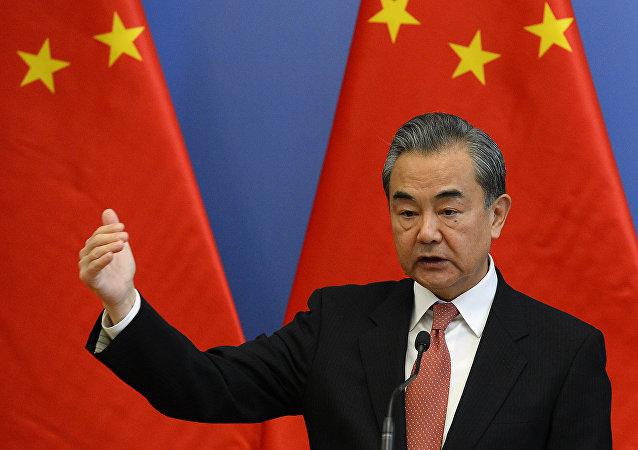 中國外交部長王毅